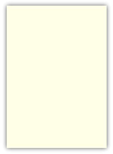 100 Blatt farbiges Premium Briefpapier Caribic DIN A4 ( 210 x 297 mm ) Farbe der Briefbogen Perlweiß, Karibik Papier