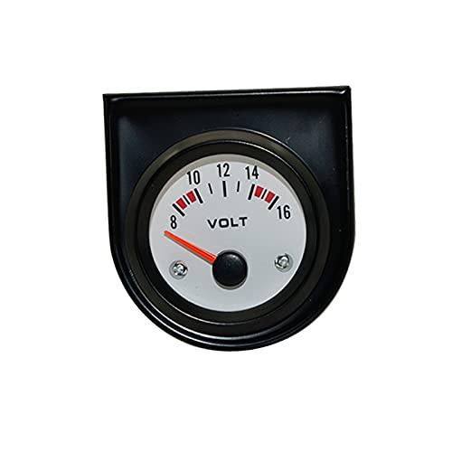 FENGFENG Sun Can 2'52 mm Forma de Agua Blanca Temperatura de Agua/Temperatura de Aceite/de Aceite Presione PSI/Prensa DE Aceite KG/VOLTO/Ammeter/Nivel de Combustible (sin Flotador) Medidor de Auto