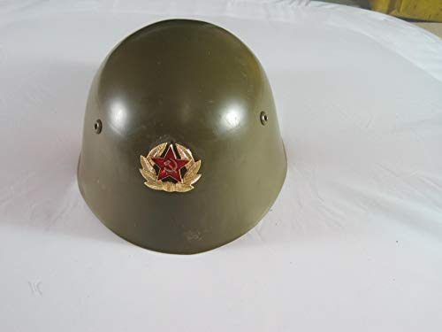 NVA Russischer Stahlhelm m .Kokarde Gr. 57 Biker Motorrad Helm