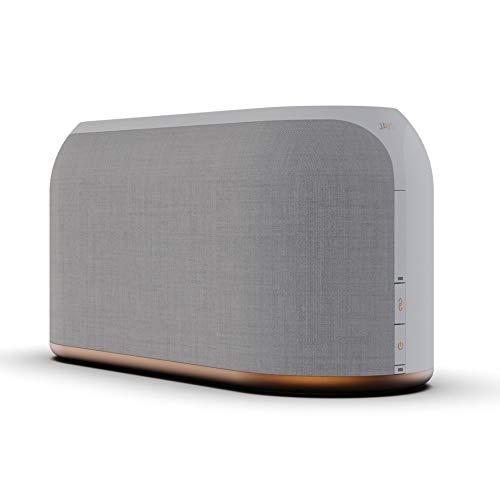 JAYS Multiroom Bluetooth Lautsprecher System – s-Living Three Weiß WLAN Speaker für Musik, TV und Stream