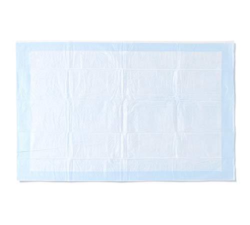 Medline - Pañuelo desechable de plástico y tela ultraligera de 58,4 x 91,4 cm, ideal para cambiar de mesa y superficies, 150 por caja, 5 por bolsa
