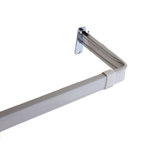"Lockseam 3"" Clearance Curtain Rod 28-48 inch"