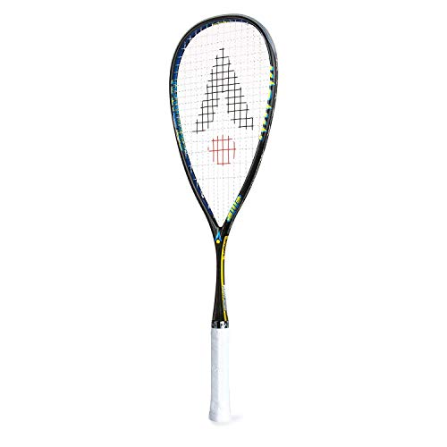 Karakal - Squashschläger Raw 120 trotzdem wenig Gewicht - Nano Graphite/Titanium Racket - inklusive Fullsize Cover - Version 2018