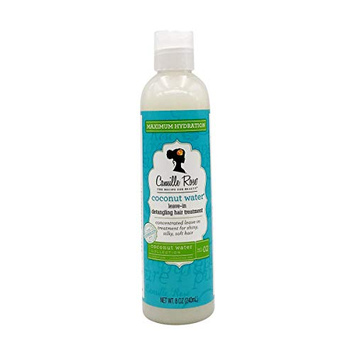 Camille Rose Coconut Water Leave In Conditioner, 8 fl oz