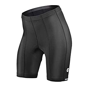 Womens Top Shelf Padded Bike Shorts – Long Distance Cycling Short