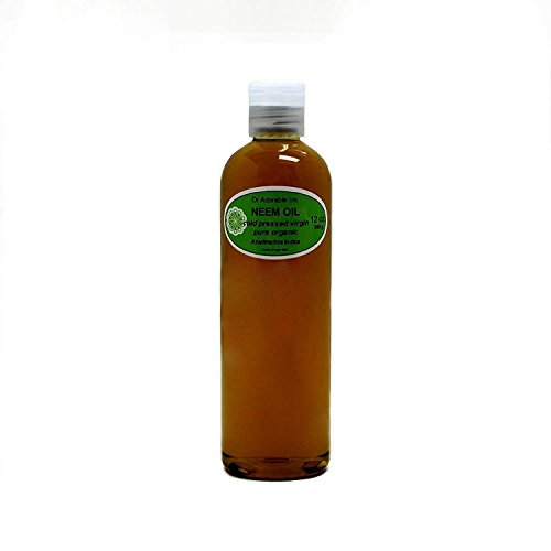 Neem Oil Organic Pure Cold Pressed by Dr. Adorable 12 oz