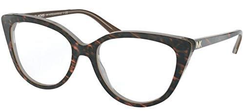 Michael Kors Damen 0MK4070 Sonnenbrille, Dark Havana, 52