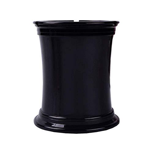 LIXBB HAOYANGYHG- Cenicero plástico Moda Simple Multifunción Multifunción Sala de Estar Home Office Bar Decoración YHGGHJG-93 (Color : Black, Size : 11 * 14cm)