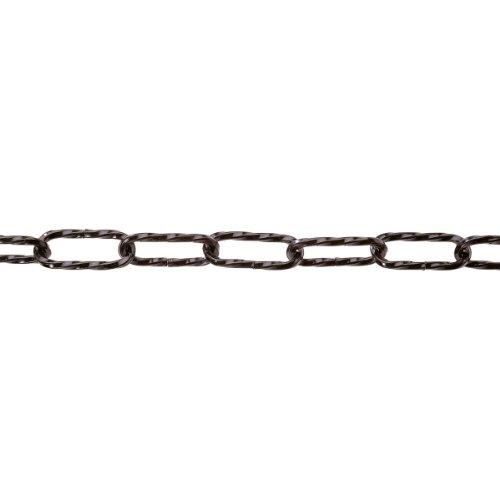 pewag Zier- und Lampenkette gedreht 4 x 37, schwarz, 29818