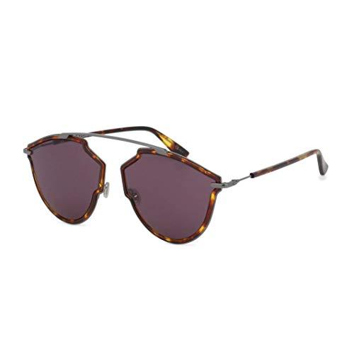 Dior SOREALRISE-H2H Gafas, YELLOW HAVANA DARK RUTHENIUM, 59/17/145 para Mujer