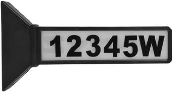 Moonrays 2-Sided Solar Address Sign