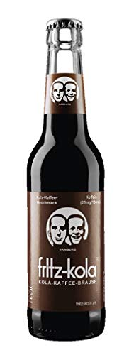 Fritz Kola Kola -Kaffee-Limonade 24 x 0,33 Liter