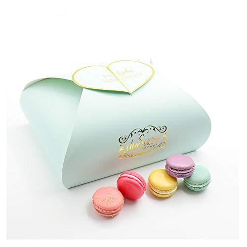 20 Macarons Box, aus feinen Zutaten handgefertigt