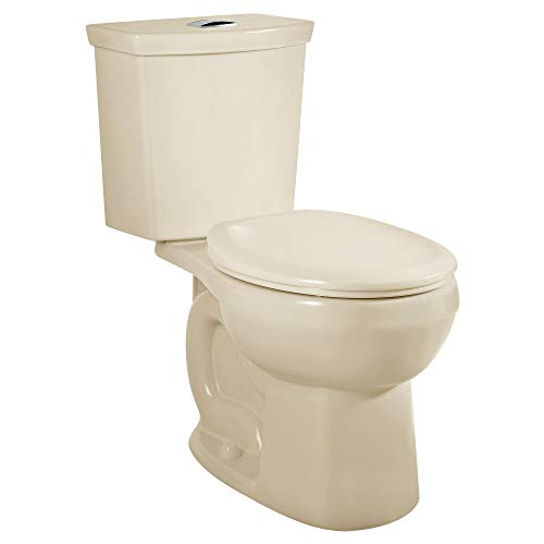 Product Image of the American Standard 2889218.021 H2Option Siphonic Dual Flush Normal Height Round Front Toilet, Bone, 2-Piece
