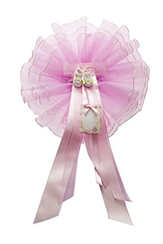 Mareli Coccarda Nascita Bambina, Rosa, 25X45-200 g