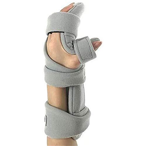 TINWG Dispositivo de entrenamiento para dedos, diapasón de férula y ortótica de dedos para lesiones cerebrales traumáticas 74 (tamaño: izquierda)
