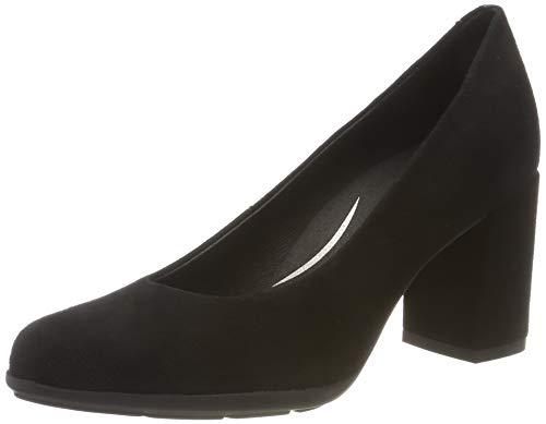 Geox D New ANNYA A, Zapatos de Tacón, Negro (Black C9999), 35 EU (Zapatos)