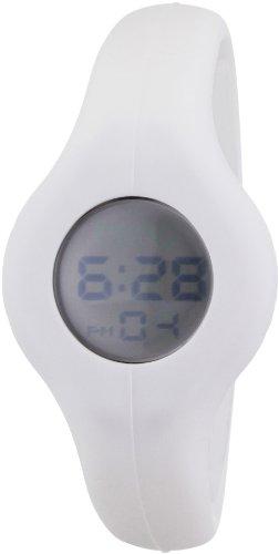 Breo B-TI-SPN8L - Correa de Reloj Unisex de Caucho, Color Blanco