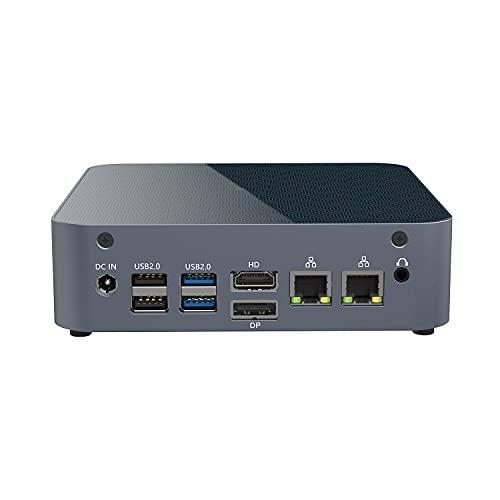 KINGDEL K15 Mini Gaming PC Windows 10 Pro AMD Ryzen 9 5900HX Processor MAX 4.6GHz 64GB DDR4 2TB SSD 2TB HDD AMD Radeon Graphics Dual Band Wireless AC 7265+Bluetooth 4.2, DP HD Type-C 2xUSB3.2