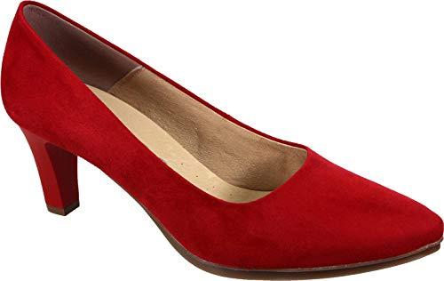 WUAPAS 3590 - Zapato Mujer Salón Stiletto Tacón 7 cm (36 EU,...