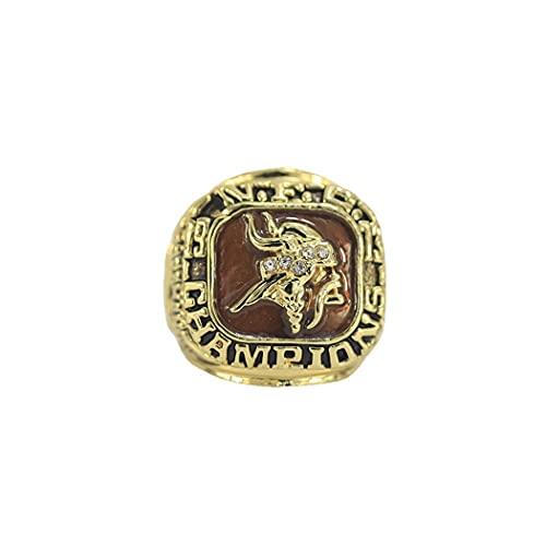 CLCL 1973 Minnesota Vikings Championship Ring Campeonato del Anillo para los Fanáticos Hombres Colección del Regalo de Visualización y Campeón del Recuerdo de los Anillos de Réplica, Without Box, 11#