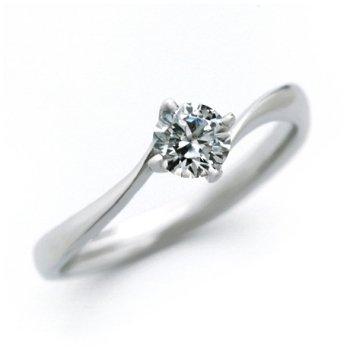 婚約指輪 ケース付 ダイヤモンド プラチナ 0.5カラット 鑑定書付 0.509ct Dカラー IFクラス 3EXカット H&C CGL サイズ8号
