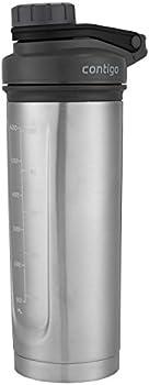 Contigo Shake & Go Fit Thermalock Stainless Steel Shaker Bottle 24 Oz