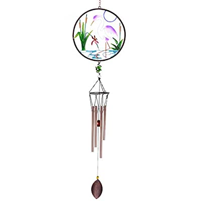 CREATIVE DESIGN Wind Chimes, 32''H Whit...