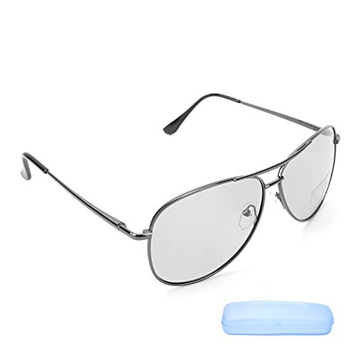 Gafas de sol polarizadas Gafas de sol a prueba de rayos UV Gafas de sol con montura metálica Gafas de sol Protección deportiva Tiro de golf Gafas de pesca Ciclismo clásico Gafas de conducción para hom