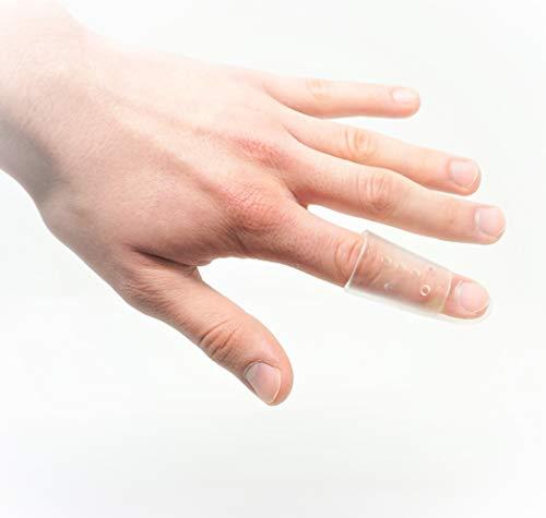 Fingerschiene nach Stack transparent Gr. 2 ? L: 54 mm/Ø 22 mm