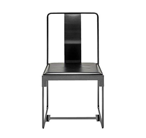 Driade mingx Outdoor Silla–Negro–Konstantin Grcic–Diseño–Silla de jardín