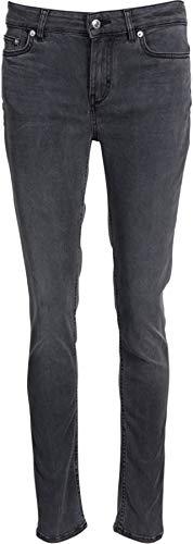 Drykorn Damen Skinny-Jeans Pull in Dunkelgrau 28W / 34L