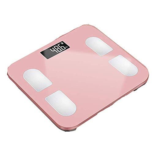 WFFF Bluetooth smart body fat scale bathroom scale body scale with 13 basic health measurement indicators, BMI, bones, moisture, etc.
