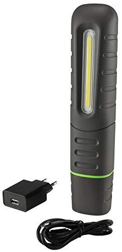 Chilitec Lampe de Travail à LED avec Support magnétique 10 W 800 LM IP65 avec Chargeur pour Camping, extérieur