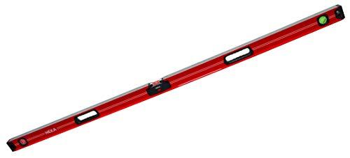 HEKA Magnetische digitale LED Aluminium Wasserwaage Opto 60, 80, 100, 150, 180, 200 cm mit akustischem Signal (180 cm)