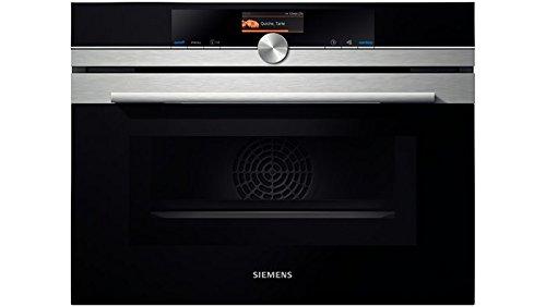 Siemens CM636GBS1 micro-onde Intégré 45 L 1000 W Noir, Argent - Micro-ondes (Intégré, 45 L, 1000 W, Tactil, Noir, Argent, TFT)