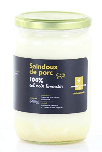 Manteca de cerdo negro del Limousin 100% natural - Origen Francia
