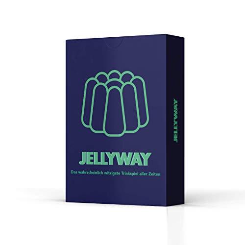 Jellyway® - das wahrscheinlich witzigste Trinkspiel Aller Zeiten | Partyspiel - Kartenspiel - Spieleabend - Saufspiel - Trinkspiel - Perfekt zum Junggesellenabschied