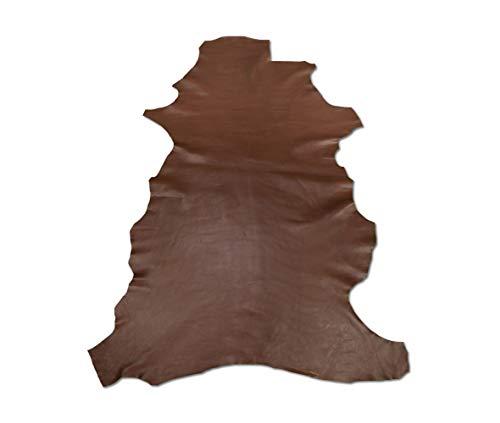 Zerimar Natur Lederreste | Lederreste Kaufen | Lederreste Sortiert | DIY Lederreste | Farbe: lila | Massnahmen: 70x65 cm