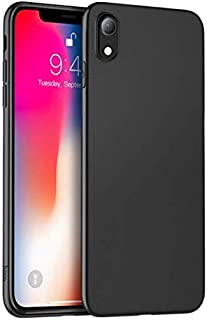 حافظة هاتف آبل آيفون XR موديل جديد آبل XR 6.1 بوصة رقيقة جدا الرملي غطاء خلفي واقي