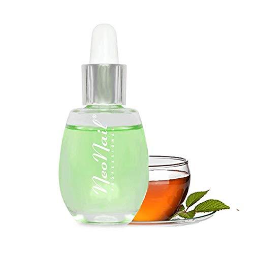 NeoNail Nagelhautöl 15 ml mit Pipette Nail Premium Hautöl verschiedene Dufte Nagelöl Pflege Nagelhautpflege (Nagelöl mit Pipette 15ml - Tee) die beste Qualität Effizient Effektiv