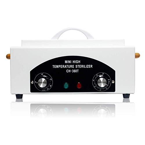 JIBO UV Esterilizador De Alta Temperatura De La Caja del Arte del Clavo Caja De Herramientas con Esterilizador De Aire Caliente Desinfección del Gabinete De Uñas