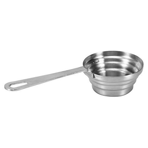 Tazas medidoras, medida precisa Cuchara de café de acero inoxidable Cucharas medidoras Tazas Cucharada pequeña Cuchara medidora para regalo Medir en seco y líquido