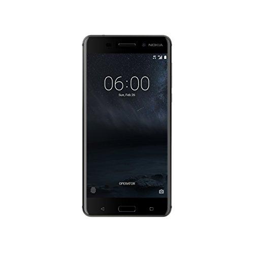 "Nokia 6 - Smartphone de 5.5"" IPS LCD (Qualcomm Snapdragon 430, 3 GB RAM, Memoria Interna 32 GB), Negro"