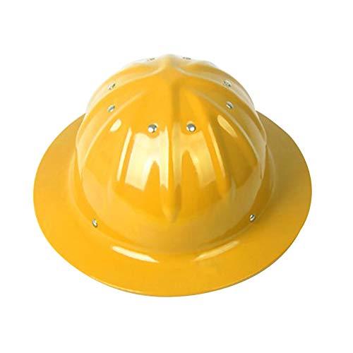 Cascos de Seguridad Industrial, Cascos de Aleación de Aluminio de Alta Resistencia, Cascos Protectores Industriales Para Obras De Construcción, Cascos Para Trabajadores de La Construcción / Fundidos ✅