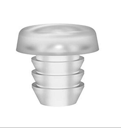 Glass Top Table Bumpers with Stem,Glass Top Rubber Grippers Clear,Glass Table Top Spacers for Patio Table.Soft Steam Bumpers for Glass Table Top.Suitable for 3/16Inch Hole,15Count.