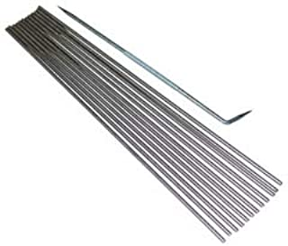 Fireworks Mandrels with Rake for Glass Working, FW703, 3/32-Inch, Set of 12