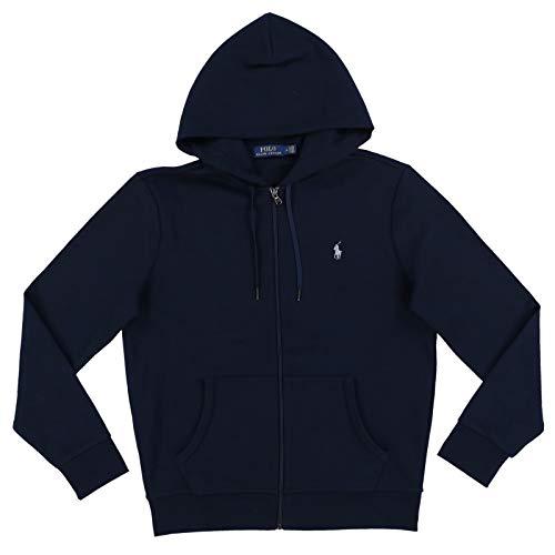 Polo Ralph Lauren Men's Full Zip Active Hoodie (Medium, Navy)