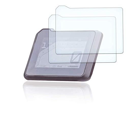 [2 Stück] Displayschutzfolie Tacho Schutzfolie geeignet für KTM Super Duke R (2020) Panzerglas