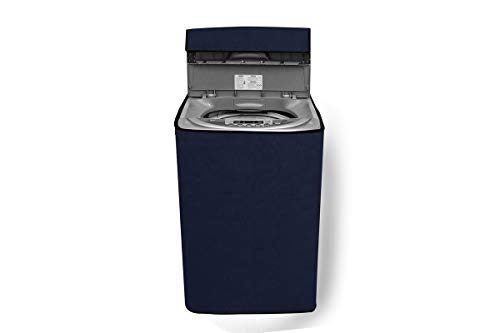 Stylista Washing Machine Cover Compatible for Bosch 7Kg Fully Automatic Top Load WOE704W0IN, Blue